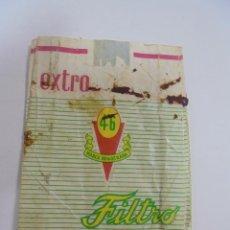 Paquetes de tabaco: PAQUETE DE TABACO. MARCA EXTRA 45 FILTRO. VACIO. VER FOTOS. Lote 112849779