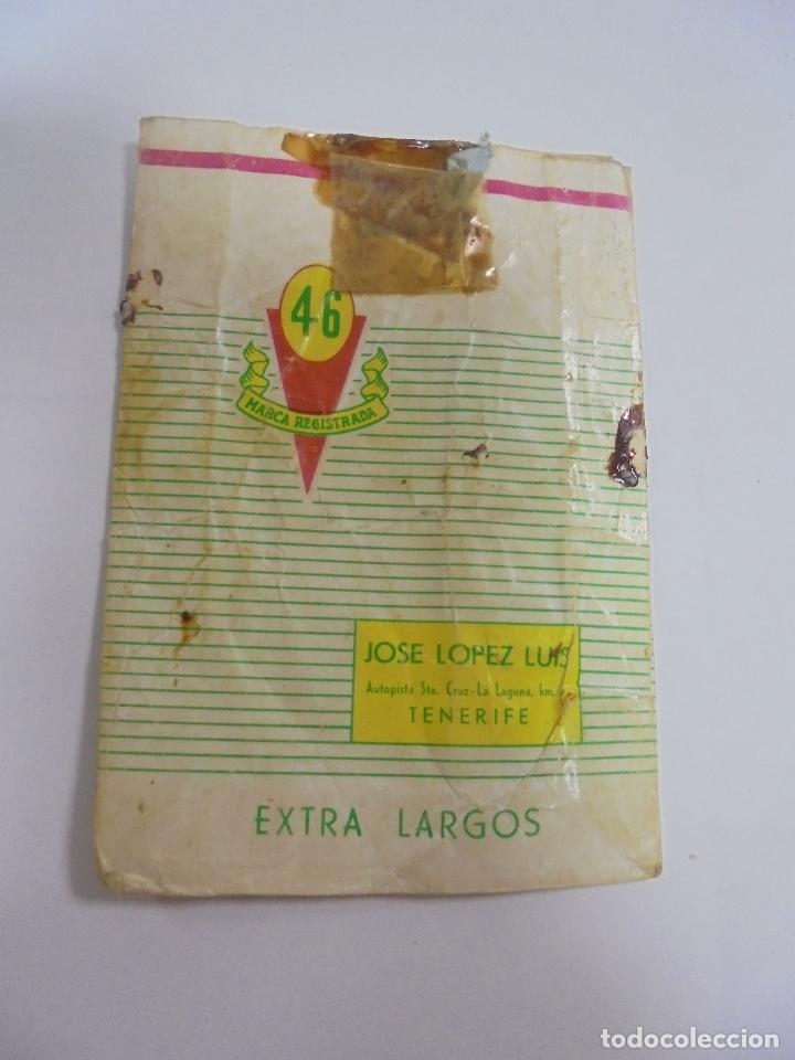 Paquetes de tabaco: PAQUETE DE TABACO. MARCA EXTRA 45 FILTRO. VACIO. VER FOTOS - Foto 2 - 112849779