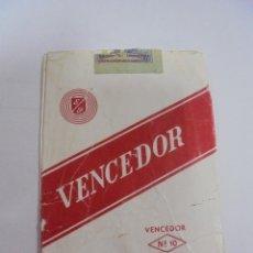 Paquetes de tabaco: PAQUETE DE TABACO. MARCA VENCEDOR Nº 10 KING SIZE. VACIO. VER FOTOS. Lote 112850191