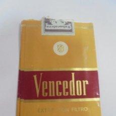 Paquetes de tabaco: PAQUETE DE TABACO. MARCA VENCEDOR. EXTRA CON FILTRO. VACIO. VER FOTOS. Lote 112850743