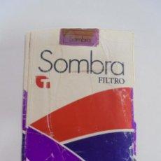 Paquetes de tabaco: PAQUETE DE TABACO. MARCA SOMBRA FILTRO. NEGROS SUAVES. VACIO. VER FOTOS. Lote 112851267