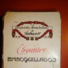 Paquetes de tabaco: ELEGANTES. Lote 112917567