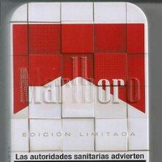 Paquetes de tabaco: CAJA METALICA TABACO *MALBORO*. Lote 112926339