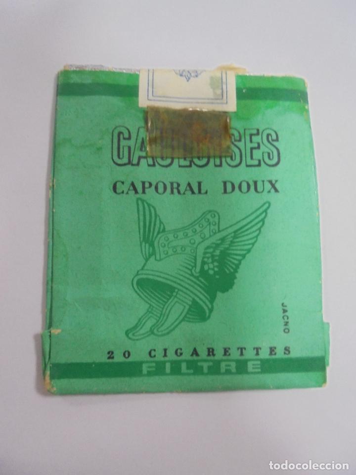 PAQUETE DE TABACO. MARCA GAULOISES CAPORAL DOUX. VACIO. VER FOTOS (Coleccionismo - Objetos para Fumar - Paquetes de tabaco)