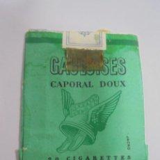Paquetes de tabaco: PAQUETE DE TABACO. MARCA GAULOISES CAPORAL DOUX. VACIO. VER FOTOS. Lote 112949779