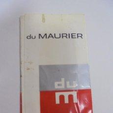 Paquetes de tabaco: PAQUETE DE TABACO. MARCA DU MAURIER. SUPERKINGS. VACIO. VER FOTOS. Lote 112950195