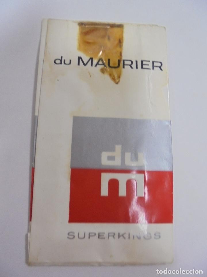 Paquetes de tabaco: PAQUETE DE TABACO. MARCA DU MAURIER. SUPERKINGS. VACIO. VER FOTOS - Foto 2 - 112950195