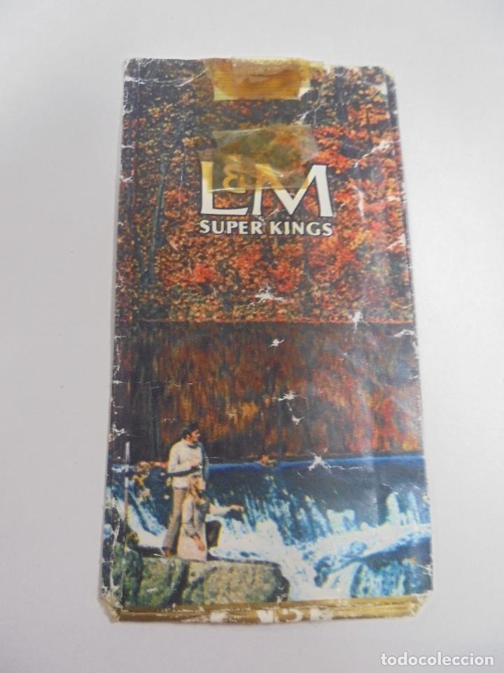 PAQUETE DE TABACO. MARCA L&M SUPER KINGS. VACIO. VER FOTOS (Coleccionismo - Objetos para Fumar - Paquetes de tabaco)