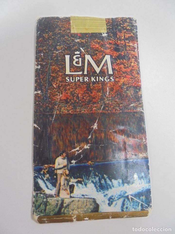 Paquetes de tabaco: PAQUETE DE TABACO. MARCA L&M SUPER KINGS. VACIO. VER FOTOS - Foto 2 - 112950275