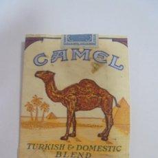 Paquetes de tabaco: PAQUETE DE TABACO. MARCA CAMEL. BLEND. U.S.A. VACIO. VER FOTOS. Lote 112950295