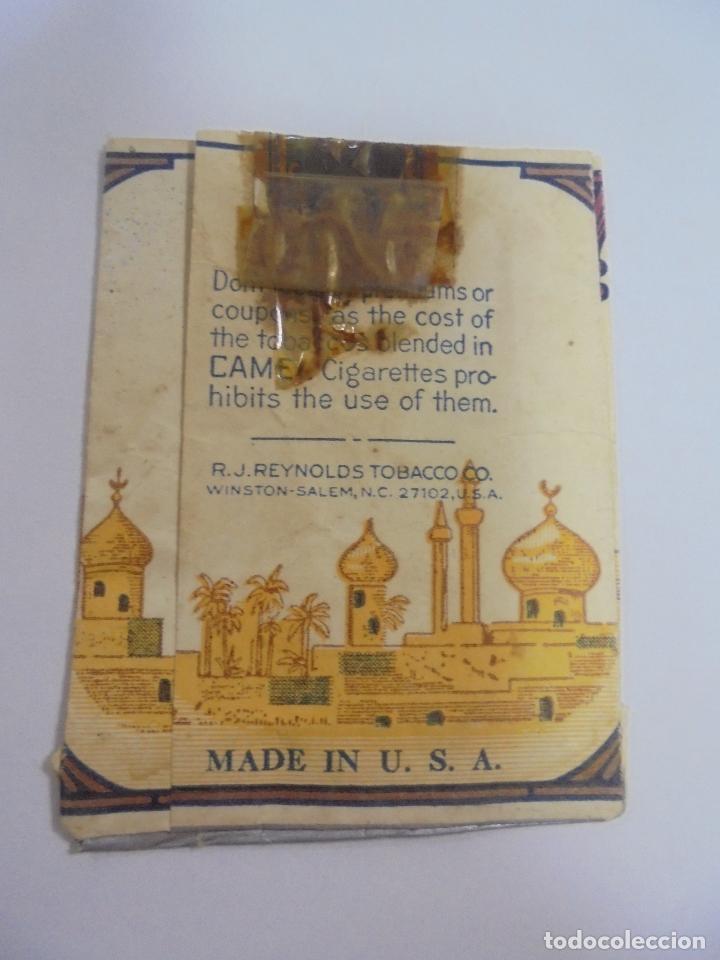 Paquetes de tabaco: PAQUETE DE TABACO. MARCA CAMEL. BLEND. U.S.A. VACIO. VER FOTOS - Foto 2 - 112950295