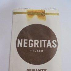 Paquetes de tabaco: PAQUETE DE TABACO. MARCA NEGRITAS. FILTRO. GIGANTE. VACIO. VER FOTOS. Lote 112950319