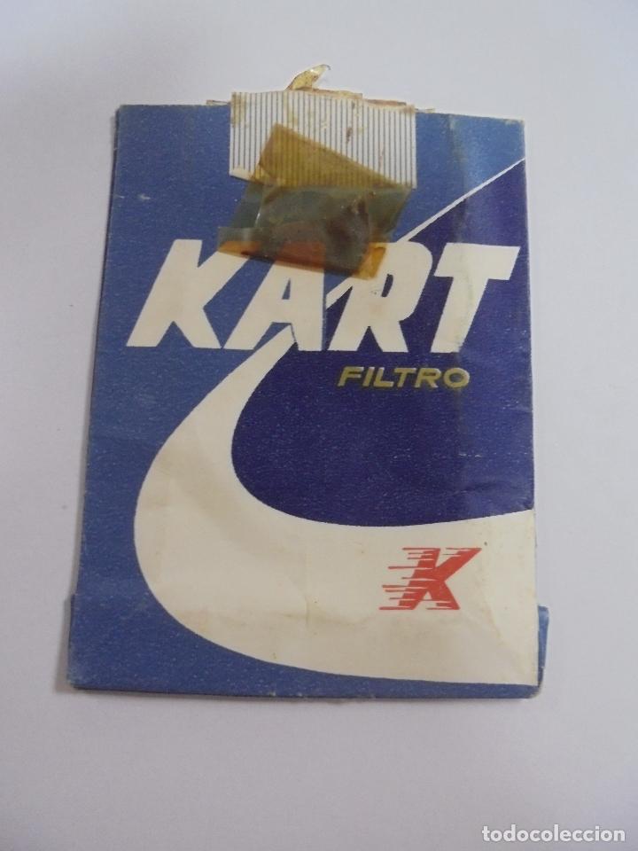 PAQUETE DE TABACO. MARCA KART. FILTRO. VACIO. VER FOTOS (Coleccionismo - Objetos para Fumar - Paquetes de tabaco)