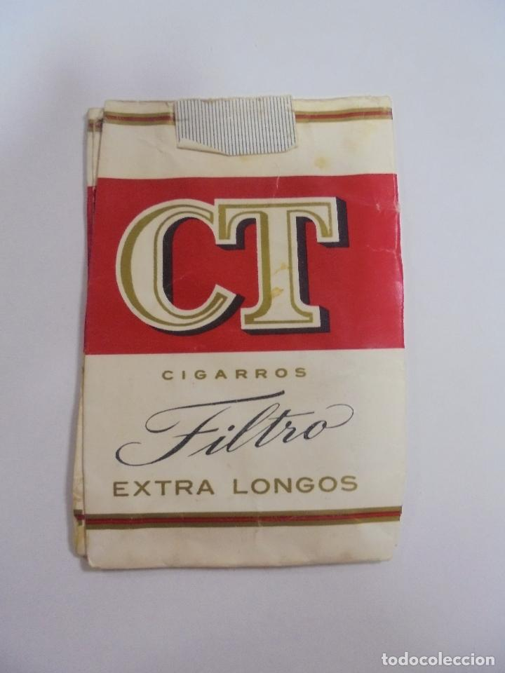 Paquetes de tabaco: PAQUETE DE TABACO. MARCA CT FILTRO EXTRA LONGOS. VACIO. VER FOTOS - Foto 2 - 112950451
