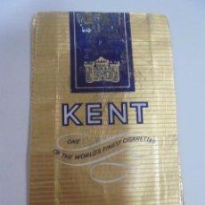 Paquetes de tabaco: PAQUETE DE TABACO. MARCA KENT. DELUXE LENGTH. VACIO. VER FOTOS. Lote 112950699