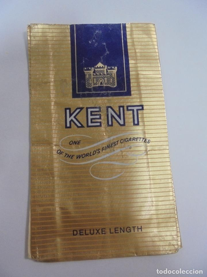 Paquetes de tabaco: PAQUETE DE TABACO. MARCA KENT. DELUXE LENGTH. VACIO. VER FOTOS - Foto 2 - 112950699