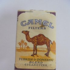 Paquetes de tabaco: PAQUETE DE TABACO. MARCA CAMEL. BLEND. U.S.A. VACIO. VER FOTOS. Lote 112951055