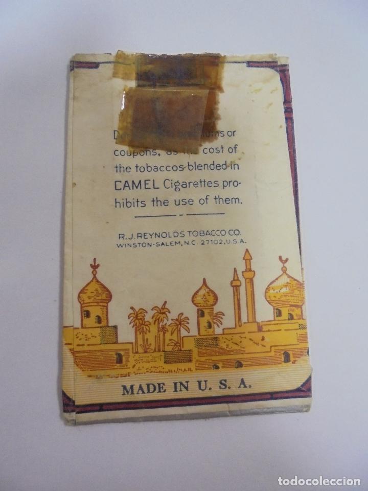 Paquetes de tabaco: PAQUETE DE TABACO. MARCA CAMEL. BLEND. U.S.A. VACIO. VER FOTOS - Foto 2 - 112951055