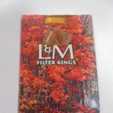 Paquetes de tabaco: PAQUETE DE TABACO. MARCA L&M FILTER KINGS. VACIO. VER FOTOS. Lote 112951431