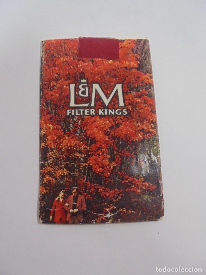 Paquetes de tabaco: PAQUETE DE TABACO. MARCA L&M FILTER KINGS. VACIO. VER FOTOS - Foto 2 - 112951431