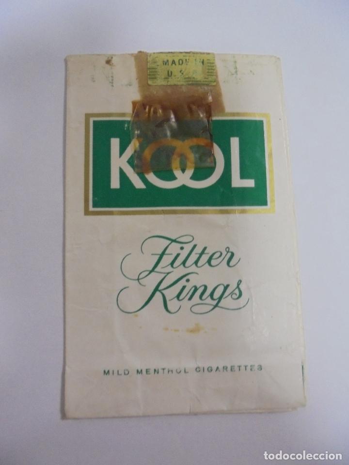 PAQUETE DE TABACO. MARCA KOOL MENTHOL. FILTER KINGS. VACIO. VER FOTOS (Coleccionismo - Objetos para Fumar - Paquetes de tabaco)