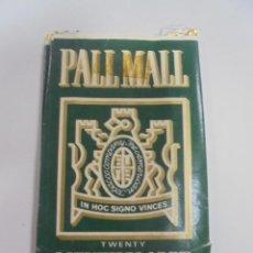 Paquetes de tabaco: PAQUETE DE TABACO. MARCA PALL MALL. MENTHOL 100'S. VACIO. VER FOTOS. Lote 112952171