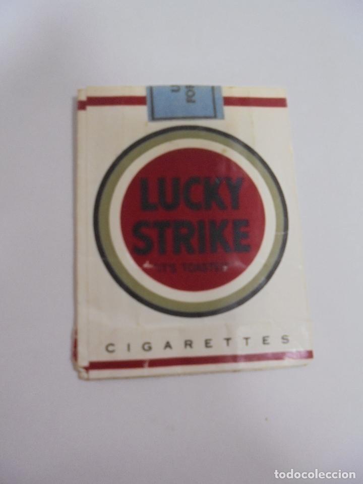 PAQUETE DE TABACO. MARCA LUCKY STRIKE. VACIO. VER FOTOS (Coleccionismo - Objetos para Fumar - Paquetes de tabaco)