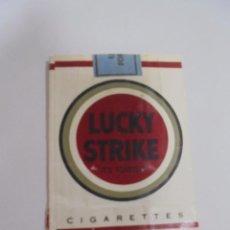 Paquetes de tabaco: PAQUETE DE TABACO. MARCA LUCKY STRIKE. VACIO. VER FOTOS. Lote 112952391