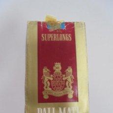 Paquetes de tabaco: PAQUETE DE TABACO. MARCA PALL MALL. SUPERLONGS. U.S.A. VACIO. VER FOTOS. Lote 112952607