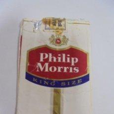Paquetes de tabaco: PAQUETE DE TABACO. MARCA PHILIP MORRIS. U.S.A. KING SIZE. VACIO. VER FOTOS. Lote 112955623