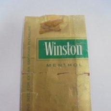 Paquetes de tabaco: PAQUETE DE TABACO. MARCA WINSTON MENTHOL. U.S.A. VACIO. VER FOTOS. Lote 112955731