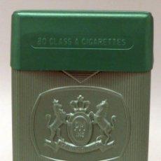 Paquetes de tabaco: PAQUETE TABACO PLÁSTICO PAXTON MENTHOL PHILIP MORRIS SIN CIGARRILLOS. Lote 112968147