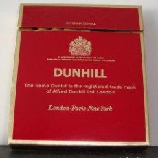 Paquetes de tabaco: (TC-115) PAQUETE TABACO VACIO DUNHILL. Lote 114246551