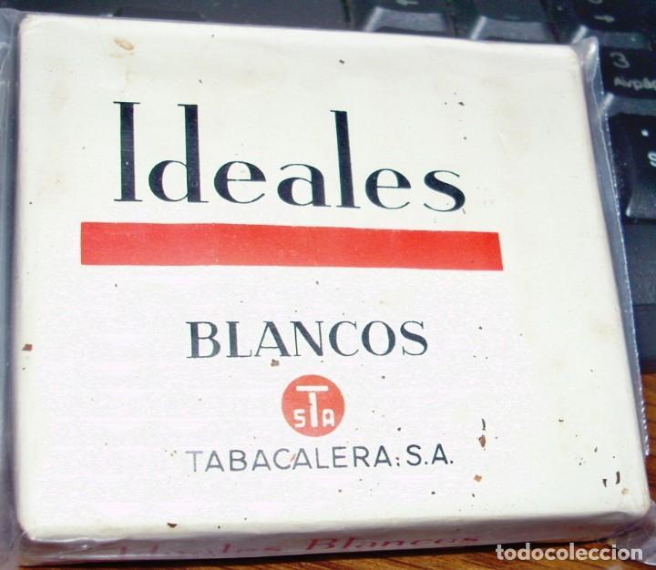 IDEALES BLANCO, PAQUETE TABACO ANTIGUO SIN ABRIR ORIGINAL MUY BUEN ESTADO segunda mano