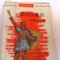 Paquetes de tabaco: CELTAS LARGO,SELLO TABACALERA - PAQUETE DE TABACO ANTIGUO SIN ABRIR, SIN ADVERTENCIAS Y PERFECTO. Lote 114355167