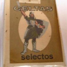 Paquetes de tabaco: CELTAS SELECTOS,SELLO CELTAS - PAQUETE DE TABACO ANTIGUO SIN ABRIR, SIN ADVERTENCIAS Y PERFECTO. Lote 114355299
