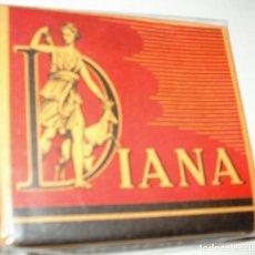 Paquetes de tabaco: DIANA AL CUADRADO- PAQUETE DE TABACO ANTIGUO SIN ABRIR, SIN ADVERTENCIAS Y PERFECTO. Lote 114355787
