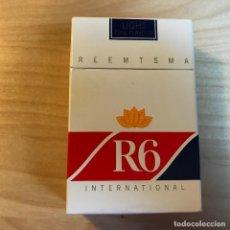 Paquetes de tabaco: PAQUETE DE TABACO VACIO R6 INTERNATIONAL REEMTSMA . Lote 115173475