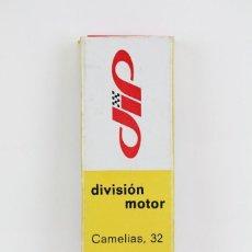 Paquetes de tabaco: CAJA PROMOCIONAL / PUBLICITARIA DE CIGARRILLOS - DIVISIÓN MOTOR / DIP, BARCELONA - OBSEQUIO DIAMANTE. Lote 115554507