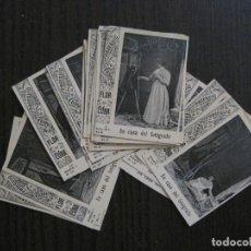 Paquetes de tabaco: EN CASA DEL FOTOGRAFO-COLECCION COMPLETA 19 CROMOS TABACO- FABRICA FLOR DE CUBA-VER FOTOS-(V-13.853). Lote 115704063