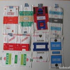 Paquetes de tabaco: LOTE DE 8 ANTIGUAS CAJETILLAS VACIAS, TABACO ESPAÑOL, CANARIO. Lote 116360195
