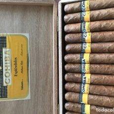 Paquetes de tabaco: PUROS HABANOS COHIBA. Lote 118651547