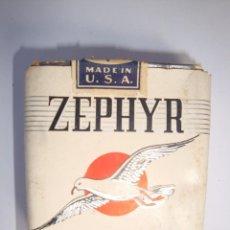 Paquetes de tabaco: ZEPHYR. Lote 118655667