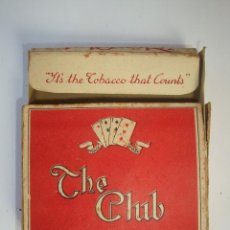 Paquetes de tabaco: THE CLUB. Lote 118656419