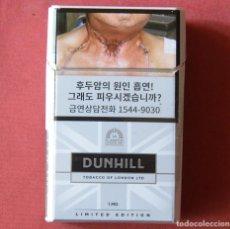 Paquetes de tabaco: DUNHILL - LIMITED EDITION - PAQUETE DE TABACO VACÍO. Lote 119448167