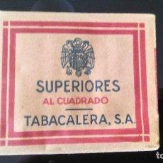 Paquetes de tabaco: SUPERIORES. Lote 119499995