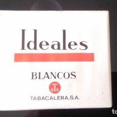 Paquetes de tabaco: IDEALES. Lote 119500971
