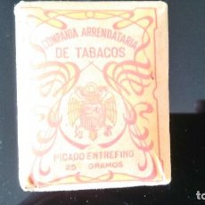 Paquetes de tabaco: PICADO ENTREFINO. Lote 119501367