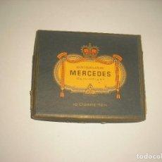 Paquetes de tabaco: MERCEDES 10 CIGARETTEN, CAJETILLA VACIA. Lote 119964243