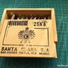 Paquetes de tabaco: PURITOS EJECUTIVOS SANTA CLARA SA SAN ANDRÉS TUXTLA MÉXICO. Lote 120121379